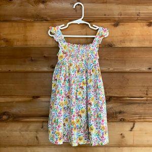 Chaps Floral Dress (4/4T)